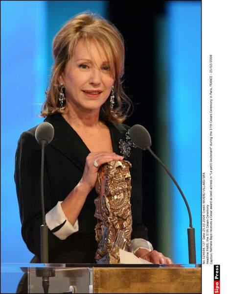 En 2006, elle reçoit le César de la meilleure actrice pour ce rôle