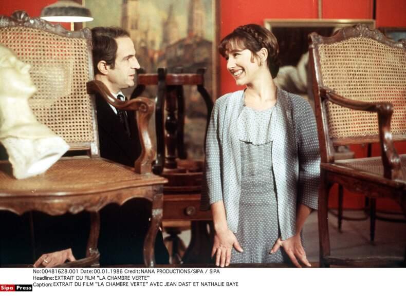 Avec Francois Truffaut dans La chambre verte (1978)