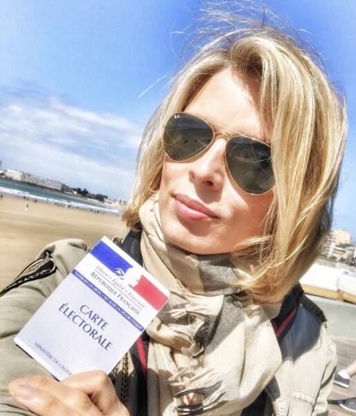 Sylvie Tellier profite de sa notoriété pour faire passer des messages qui lui tiennent à coeur