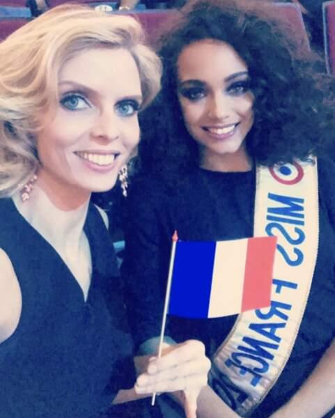 Sylvie Tellier poste régulièrement des photos avec les Miss !
