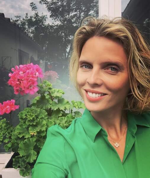 Sur son compte Instagram, elle poste aussi de nombreux selfies
