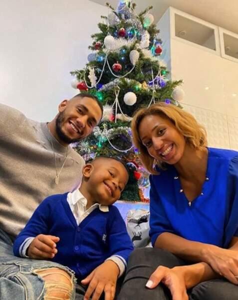 Estelle Mossely et son ex-conjoint Tony Yoka étaient réunis pour leur petit Ali.