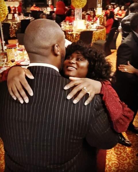 Danielle Brooks, star d'Orange is the New Black, en a profité pour se fiancer
