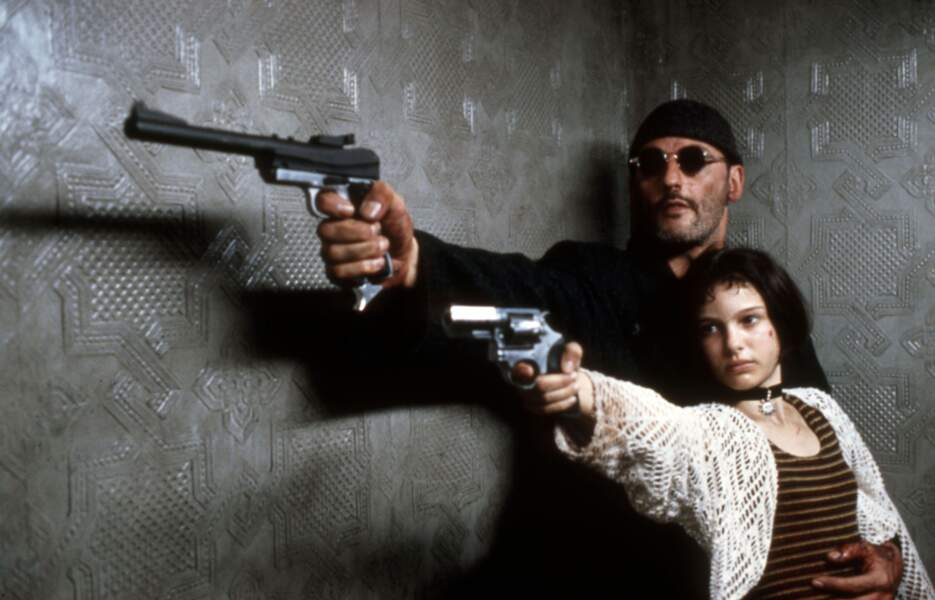 """La jeune Natalie débute en 1992 aux côtés de Jean Reno dans le film """"Léon"""" réalisé par Luc Besson"""