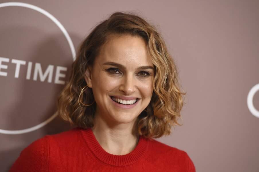 Mais rien ne semble altérer le sourire de l'actrice !