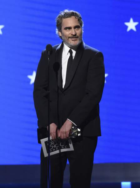 Carton plein pour Joaquim Phoenix, le comédien a gagné le trophée du Meilleur acteur grâce à sa performance dans Joker