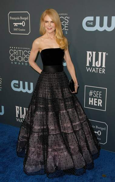 Nicole Kidman était présente pour soutenir Laura Dern, l'une de ses partenaires dans la série Big Little Lies