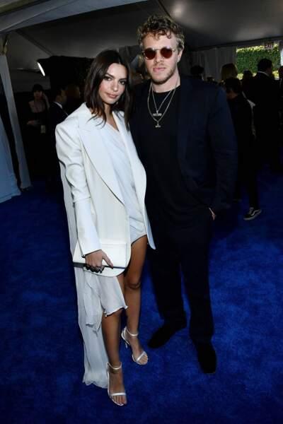 Emily Ratajkowski et son mari Sebastian Bear-McClard étaient également de sortie ce soir-là