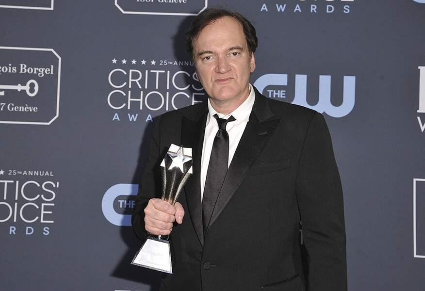 Quentin Tarantino est reparti avec plusieurs trophées grâce à son film Once upon a time in Hollywood