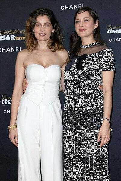 Laetitia Casta et Marion Cotillard, deux stars sur le tapis rouge