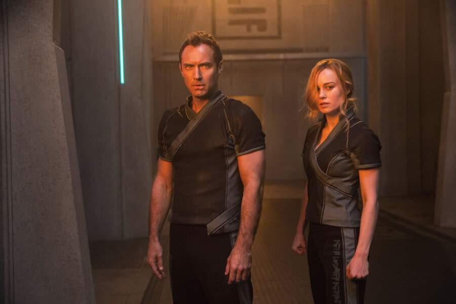 En 2019, il a donné du fil à retordre à Brie Larson dans Captain Marvel !