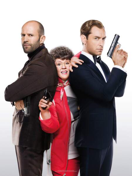 James Bond ? Non ! En 2015, Jude Law a joué Bradley Fine dans Spy