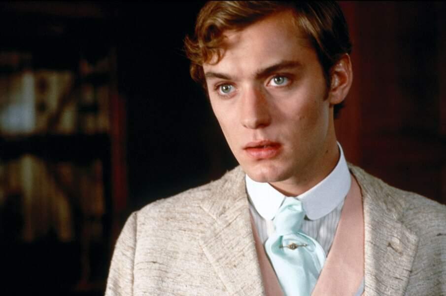 Le voici dans la peau de Sir Alfred Douglas dans Oscar Wilde en 1997