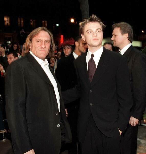 """Il tourne alors dans la foulée aux cotés de Gérard Depardieu dans le film """"L'Homme au masque de fer"""" (1997)"""