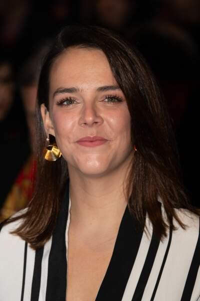 Pauline Ducruet au lancement du 44e Festival du cirque de Monaco jeudi 16 janvier