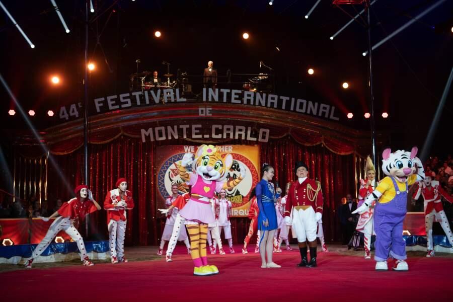 Le lancement du 44e Festival du cirque de Monte-Carlo jeudi 16 janvier 2020