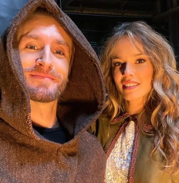 Philippe Lacheau et Elodie Fontan ne quittent plus leur costume