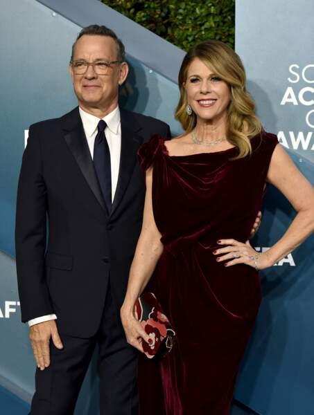 Tom Hanks et sa femme, Rita Wilson