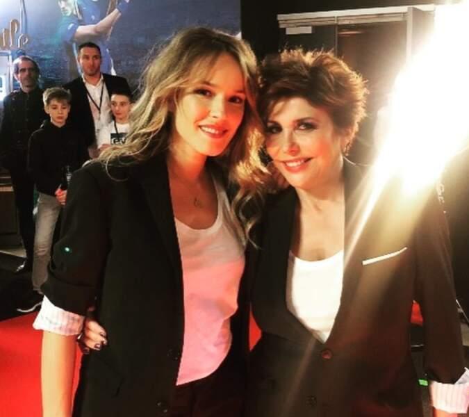 Mais Liane Foly n'a pas dit son dernier mot et poste une photo avec Elodie Fontan...