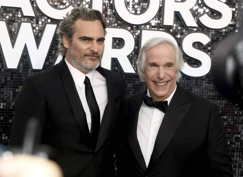 Joaquin Phoenix et Henry Winkler, inoubliable Fonzie dans Happy Days