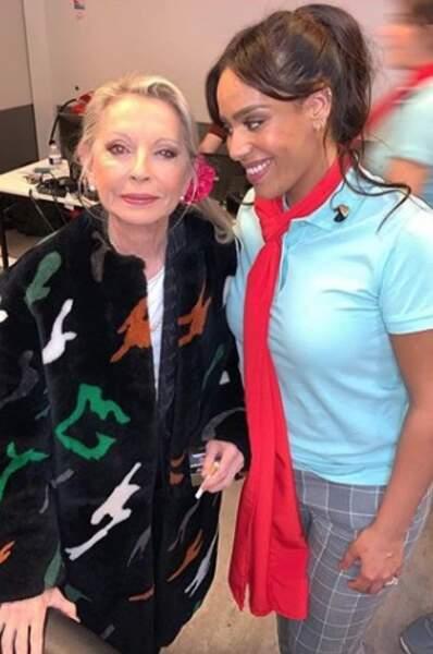 Amel Bent a également été impressionnée par la venue de la première Enfoirée féminine