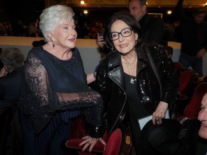 Line Renaud et Nana Mouskouri