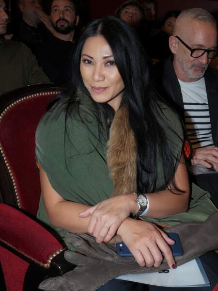 La chanteuse Anggun