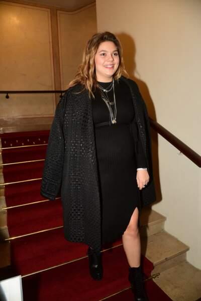 Louane enceinte de son premier enfant