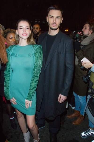 Baptiste Giabiconi et la star de Tik Tok Lea Elui