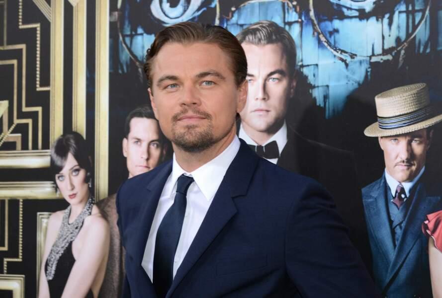 Il interprète avec brio Gatsby, le héros du roman de F. Scott Fitzgerald dans le film de Baz Luhrmann