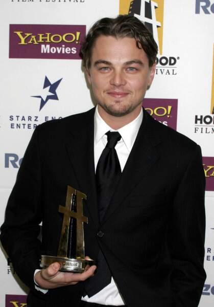 A 30 ans, Leonardo remporte le Hollywood Film Award de l'acteur de l'année 2004
