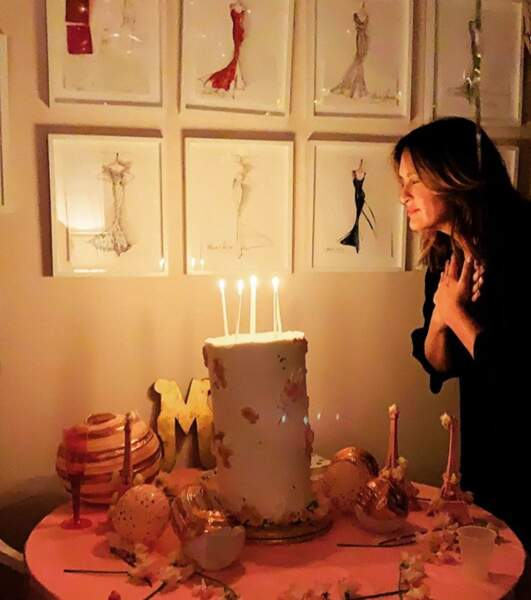 On termine en souhaitant un très bon anniversaire à l'actrice Mariska Hargitay, 56 ans.