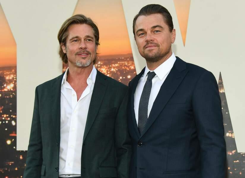 """En compagnie de Brad Pitt, il présente en 2019 le film """"Once Upon a Time in Hollywwod"""" réalisé par Quentin Tarantino"""