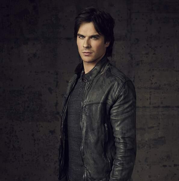 Parce qu'on a toujours un petit faible pour les mauvais garçons… Damon de Vampire Diaries en est l'exemple parfait !
