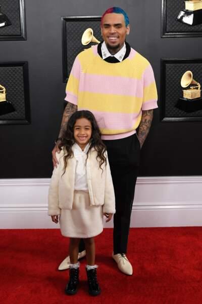 Chris Brown et Royalty Brown