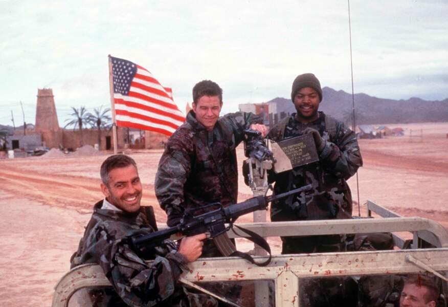 Pied nicklé dans Les Rois du désert aux côtés de George Clooney (1999)