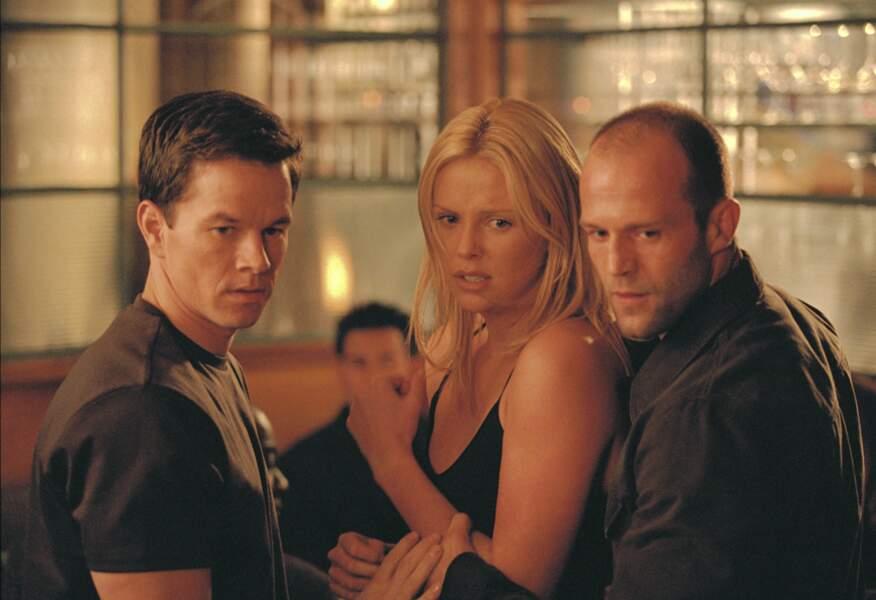 Avec Jason Statham et Charlize Theron dans Braquage à l'italienne (2003)