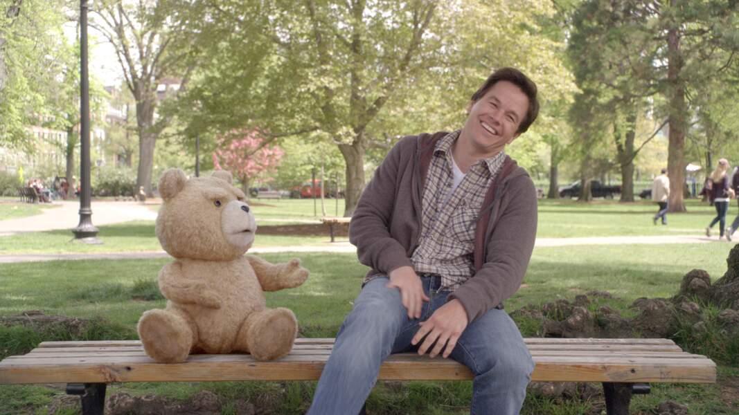 Gros succès pour Ted et sa peluche teigneuse (2012) !