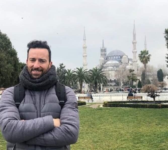 Cette semaine, les people ont voyagé : Pablo Puyol d'Un, dos, tres à Istanbul.