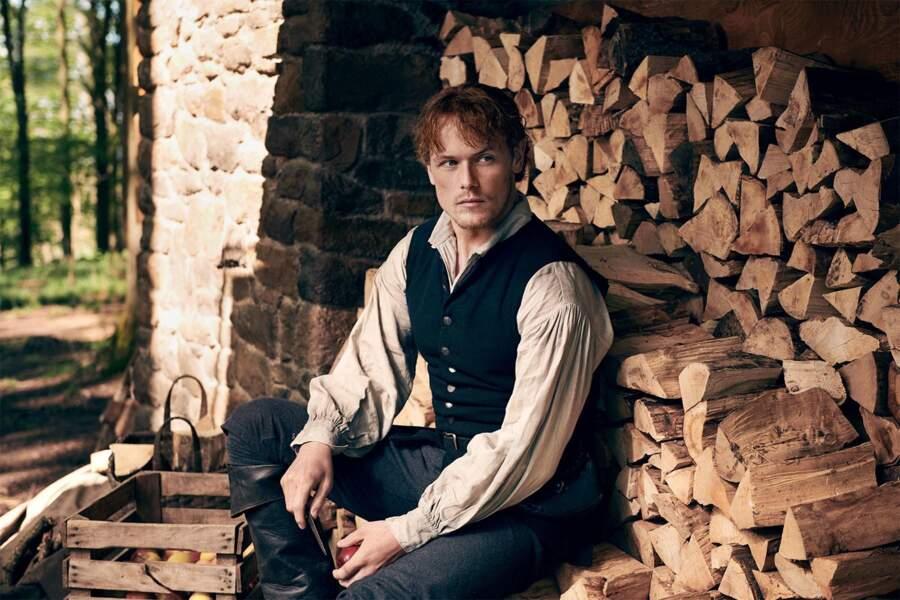 Passionné et vif, Jamie d'Outlander vous fera vivre une Saint-Valentin torride lors d'un voyage en Écosse