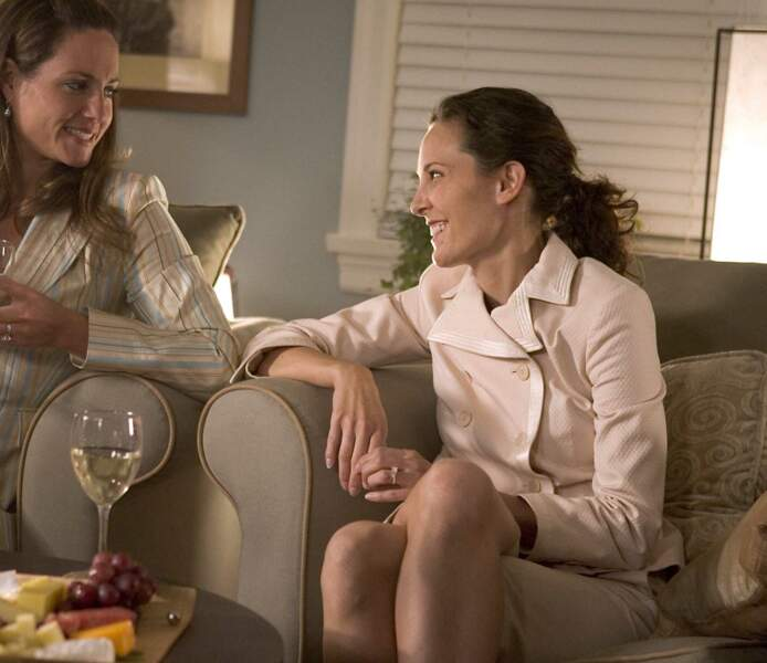 Erin Daniels (à droite de la photo) a incarné Dana Fairbanks dans The L Word