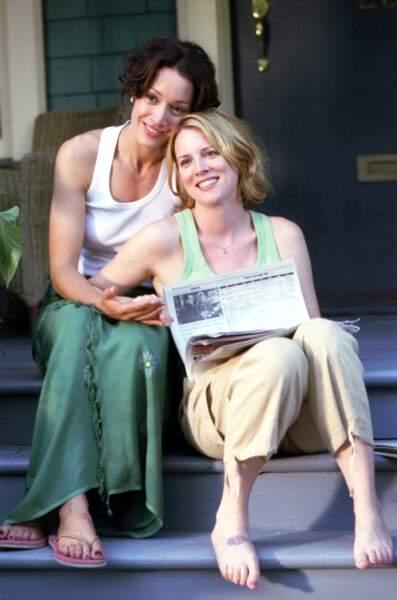 Laurel Holloman (à droite sur la photo) a joué Tina Kennard dans The L Word