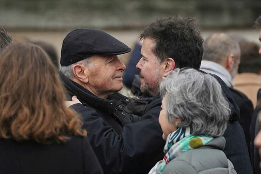 Jacques Toubon et Nicolas Demorand.