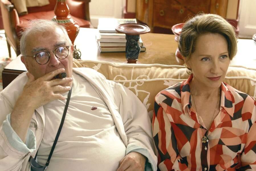 Sur le tournage de La Fleur du Mal de Claude Chabrol (2002)