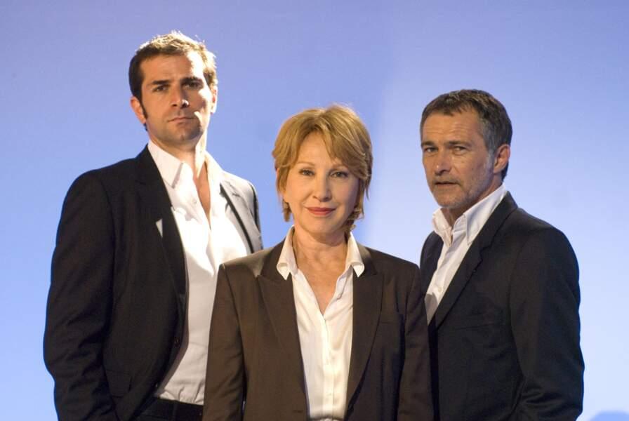 Dans la série TV Les Hommes de l'ombre avec Grégory Fitoussi et Bruno Wolkowitch (2012)