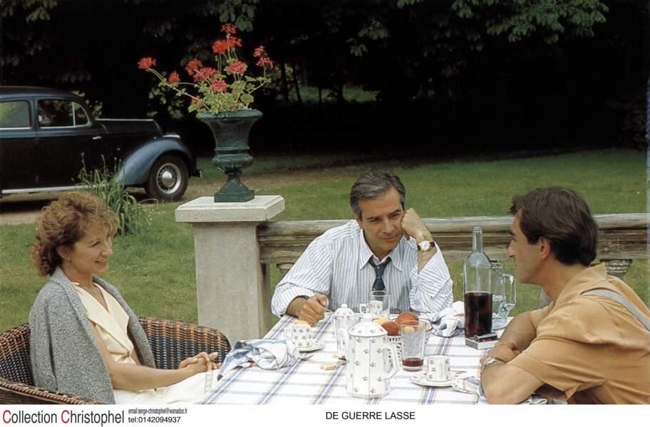 De guerre lasse aux côtés de Pierre Arditi et Christophe Malavoy (1987)