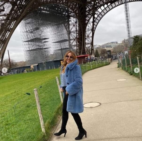 C'est pas tout mais Cathy Guetta nous attend pour visiter la Tour Eiffel.
