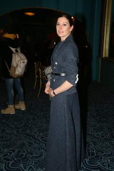 La danseuse Marie-Agnès Gillot qui a assurée les chorégraphies du spectacle