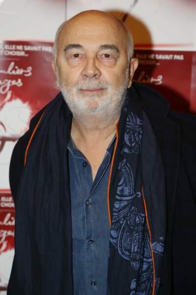 Le comédien Gérard Jugnot