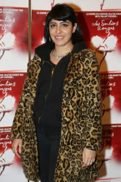 La comédienne et chanteuse Carmen Maria Vega